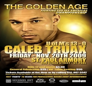 "Caleb Truax Interview: ""Look out for me!"""