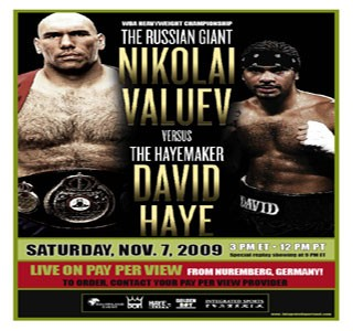 "Valuev: ""Haye's comments have been very motivating"""
