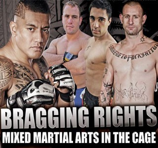 "AUSSIES TAKE ON AMERICANS IN MMA SHOWDOWN ""BRAGGING RIGHTS"""