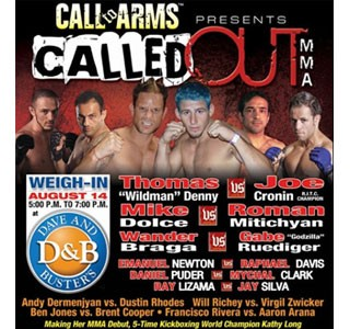 Called OUT MMA II SATURDAY NIGHT FIGHTS ONTARIO, CALIFORNIA
