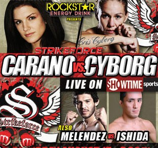Inaugural Women's Championship on the Line at Strikeforce: Carano vs. Cyborg