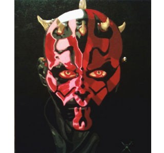 Anatomy of a Portrait: Darth Maul