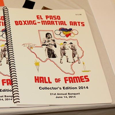 El Paso Boxing & Martial Arts Hall Of Fame 2014 Photo Gallery