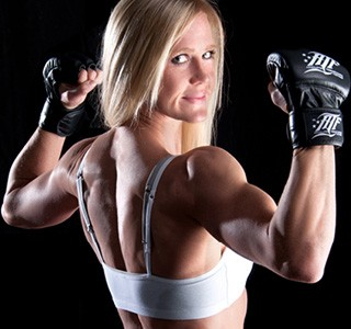 Holly Holm Broke Werner's Will with a Broken Arm