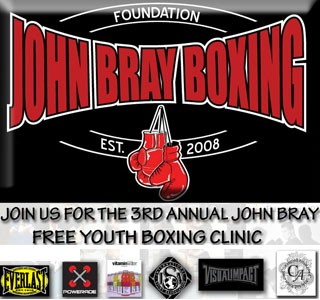 John Bray 3rd Annual Free Youth Boxing Clinic