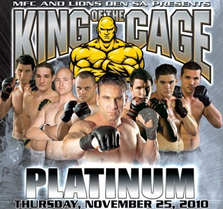 King of The Cage – DURBAN SOUTH AFRICA WITH KEN SHAMROCK