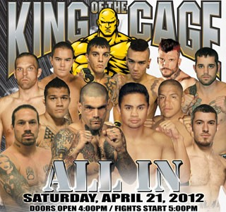 King of the Cage - ALL IN