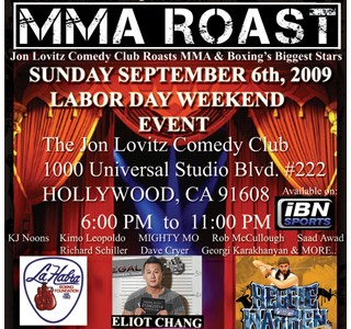 MMA Roast Presented by Convicted Artist