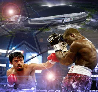 Pacquiao Clottey - The Event at Cowboy Stadium