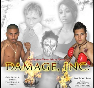 Powerhouse Promotions Presents Damage Inc. November 7th 2009