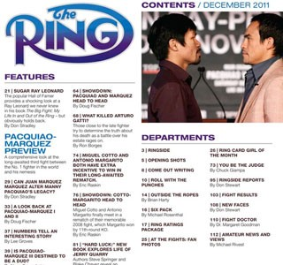 RING MAGAZINE...  A DISGRACEFUL ISSUE