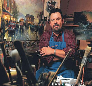 Thomas Kinkade Painter of Light Dead