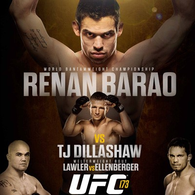 UFC 173 Pay-Per-View Results: Dillashaw Shocks Barao via Stoppage; Henderson Losses to Cormier; Krause, Mizugagi, and Lawler Pickup Wins