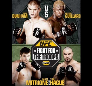 UFC Fight for the Troops 2 Results