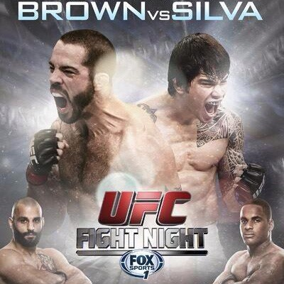 UFC FIGHT NIGHT 40 Main Televised Fight Results: Brown and Silva Engage in an Instant Classic