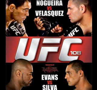 UFC 108 Results
