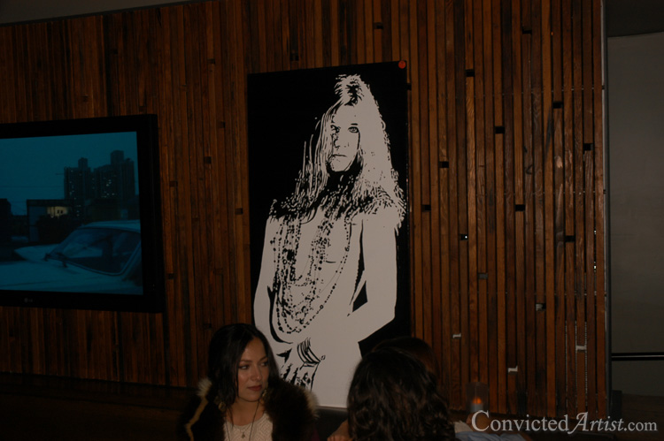 You are browsing images from the article: Convicted Artist - Art Show