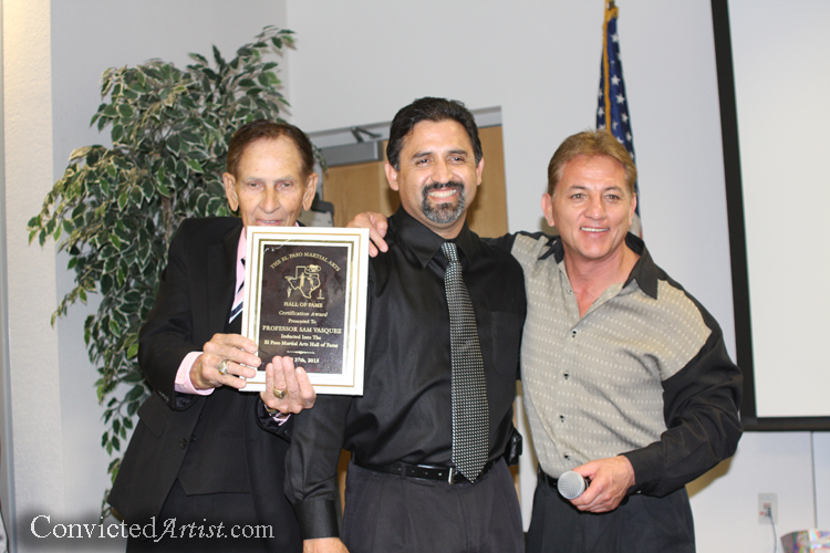 You are browsing images from the article: The El Paso Boxing/Martial Arts Hall of Fame - 2013 Night of Champions