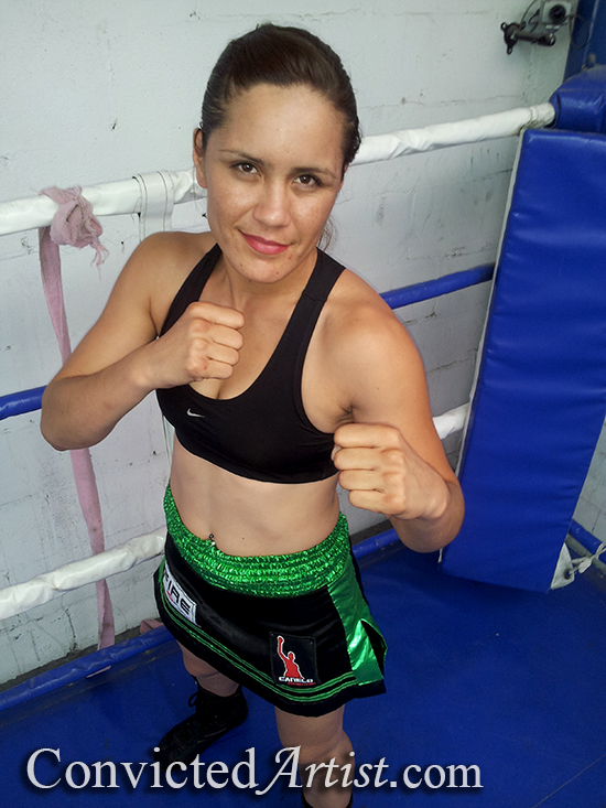 You are browsing images from the article: WBC Female Super Bantamweight Champion and WBC Female Bantamweight Champion Yazmin Rivas