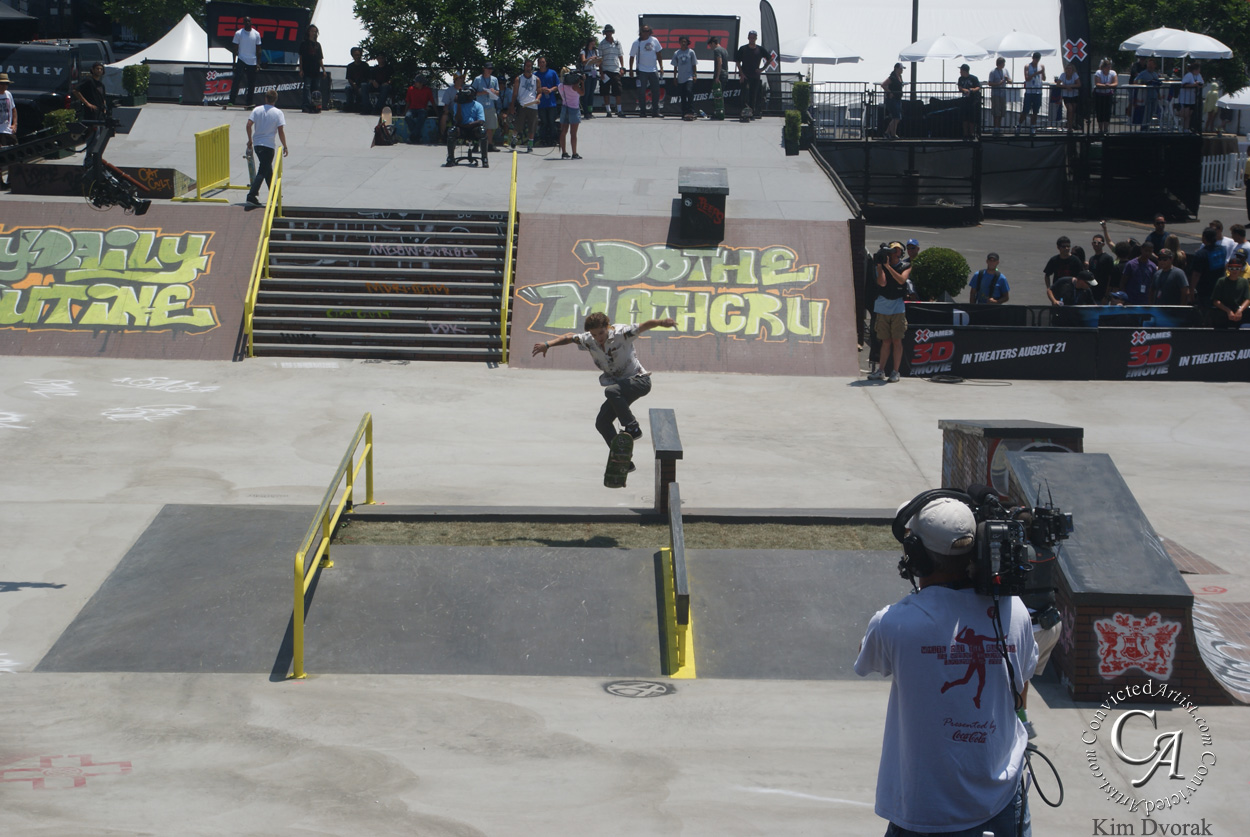 You are browsing images from the article: Rodriguez regains his footing at X-Games, takes gold