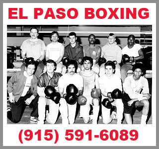 El Paso Boxing Lessons - Basic to Advanced Boxing Techniques
