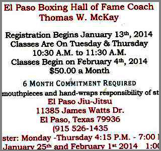 el paso boxing classes