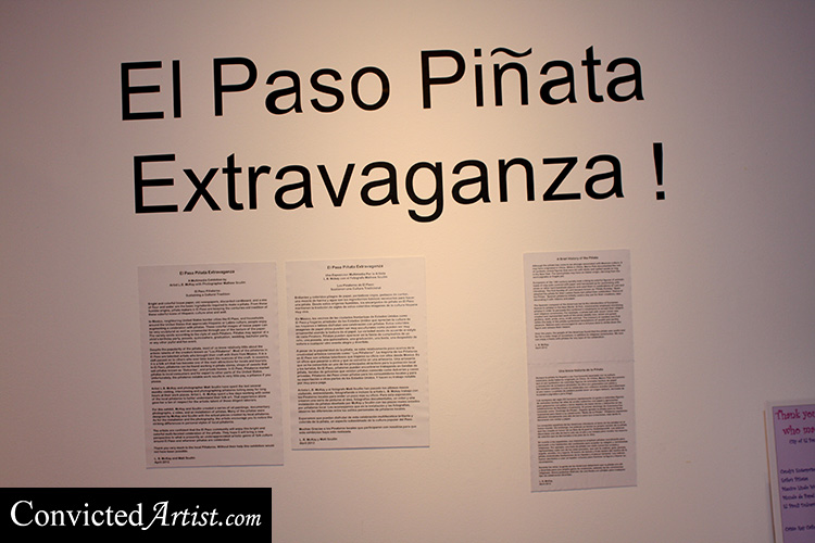 You are browsing images from the article: El Paso Piñata Extravagnza' exhibition by Artist L. B. Mckay