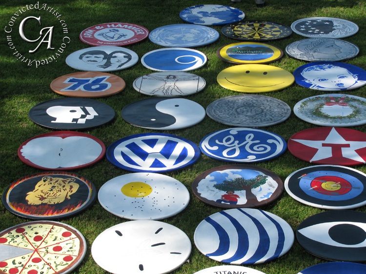You are browsing images from the article: Paul Bryan Jr. Round Painting Collection