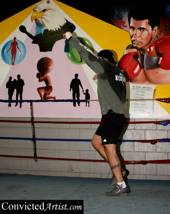 You are browsing images from the article: The Rise of a Mexican American Heavyweight – David 'Nino' Rodriguez Interview