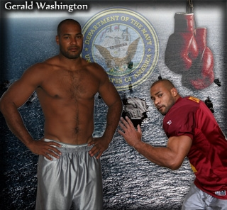 how tall is gerald washington