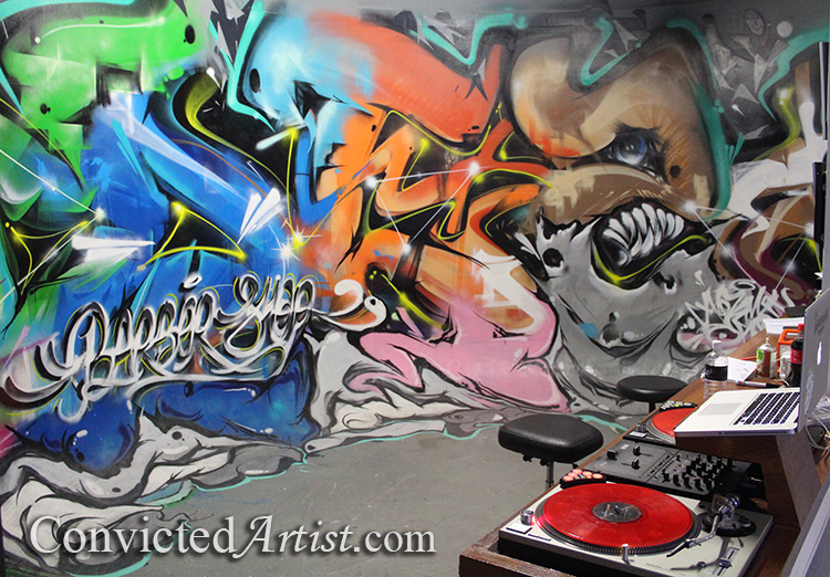 You are browsing images from the article: The Link Between Hip-Hop and Graffiti